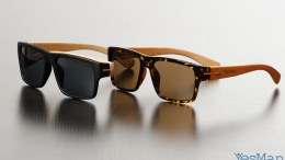 Yes Man Sunnies - Handmade Bamboo Sunglasses on Kickstarter