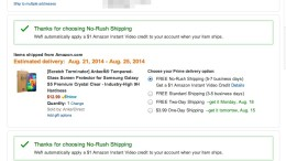 Amazon Offers $1 Instant Video Credit for Slower Shipping Choice