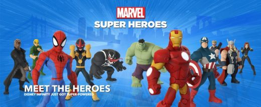 GearDiary Disney Infinity 2.0 Marvel Super Heroes Sizzle in Sales
