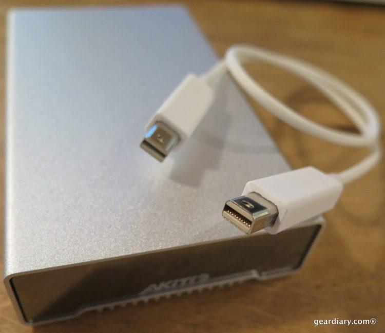 AKiTiO Neutrino Thunderbolt Edition 512GB SSD Portable Drive Review