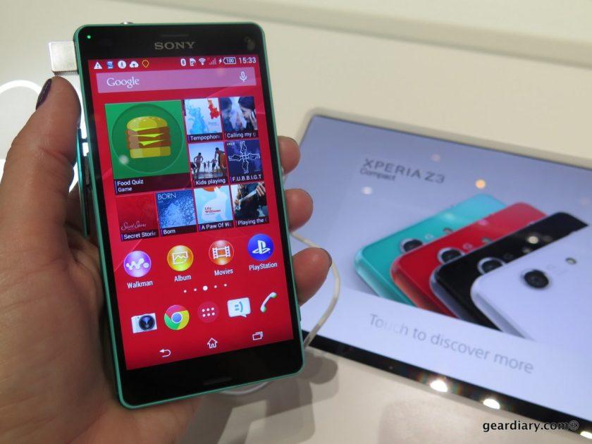 Gear Diary Sony Xperia Z3 Devices at IFA 2014-022