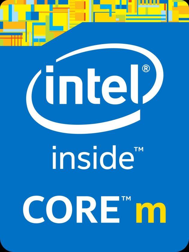 Intel Core M Badge