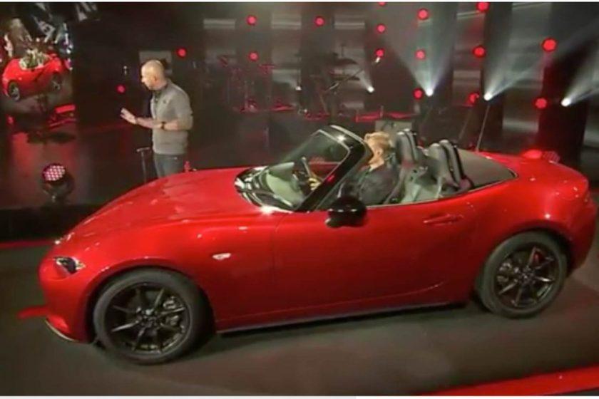 2016 Mazda MX-5 Miata/Images courtesy Mazda