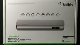 Belkin Thunderbolt 2 Express Dock HD Is FAST!