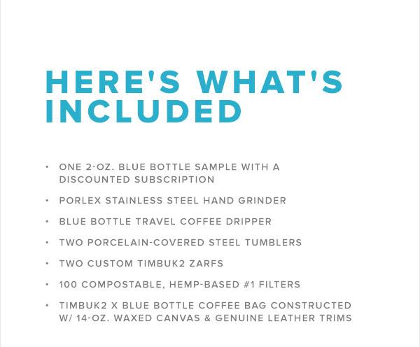 Timbuk2 x Blue Bottle Travel Kit2