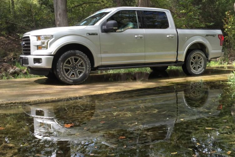 2015 Ford F-150/All images by Author, Infographics courtesy Ford
