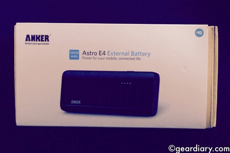 Anker 2nd Generation Astro E4 13,000mAh External Battery