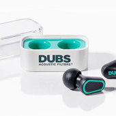 DUBS Acoustic Filters Protect Your Ears and the Quality of the Sound