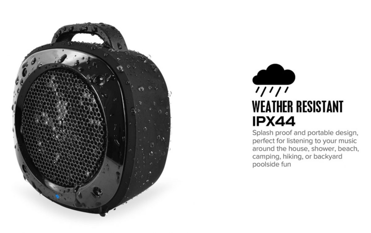 divoom airbeat 10 water resistant bicycle and shower bluetooth