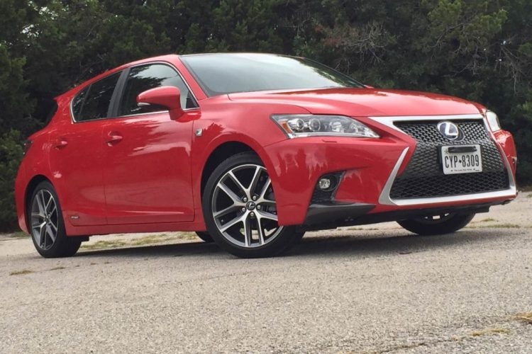 2014 Lexus CT 200h Offers Luxury and Sport in a Hybrid
