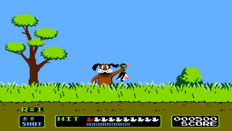 GearDiary Christmas Release on Wii U for NES Duck Hunt
