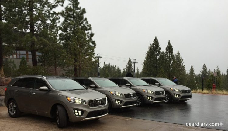 Gear Diary Covers the 2016 Kia Sorento Press Introduction at Lake Tahoe.59