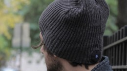 1 Voice Beanie with Bluetooth Stereo Built In