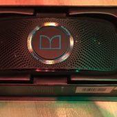 Monster Superstar Backfloat Portable Speaker Swims with You!