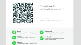 WhatsApp Web Arrives - Sans Group Message Capabilities