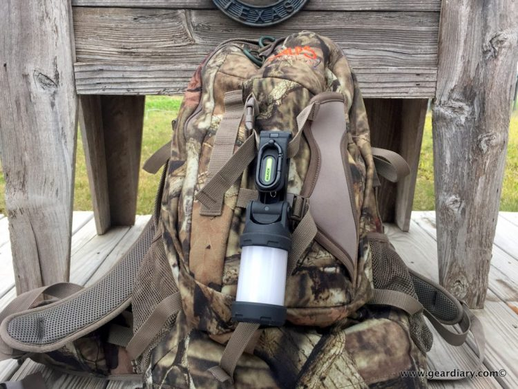 GearDiary Blackfire Clamplight Backpack Review: Light Up Your Adventure
