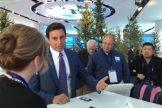 Ford CEO Mark Fields with social media