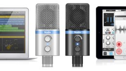 IK Multimedia Announces iRig Mic Studio, Ultra-Portable Large Diaphragm Mic