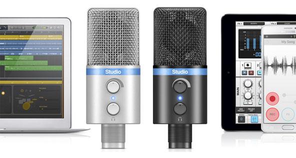 IK Multimedia Announces iRig Mic Studio, Ultra-Portable Large Diaphragm Mic