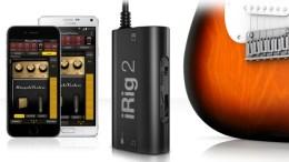 IK Multimedia announces iRig 2 Next Generation Guitar Interface