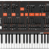 Korg ARP Odyssey Analog Synthesizer Unveiled at NAMM 2015