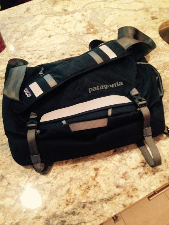 Patagonia Bag holds ALL of these items, and more