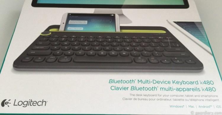 GearDiary Logitech K480 Keyboard Is a Multi-Device Wonder
