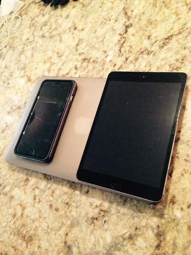 iPad Mini sitting with it's siblings