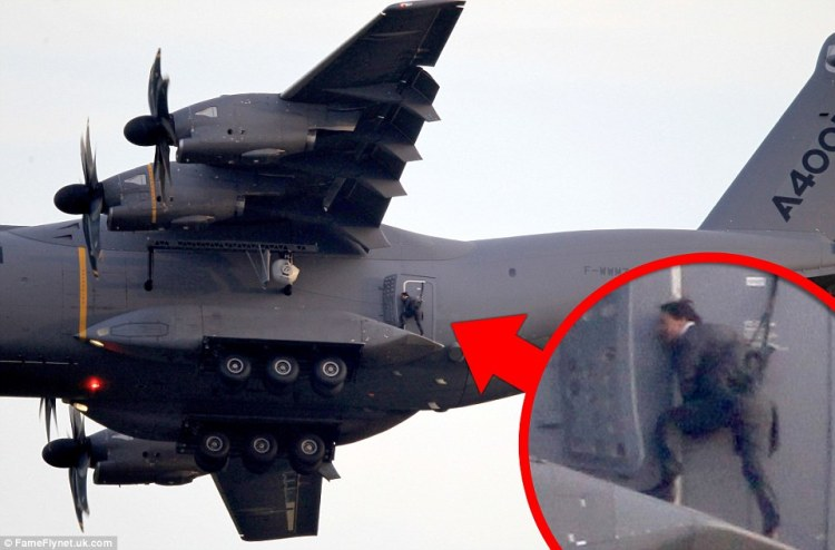 He Does His Own Stunts! Ethan Hunt Is Back in Mission:Impossible 5 Trailer
