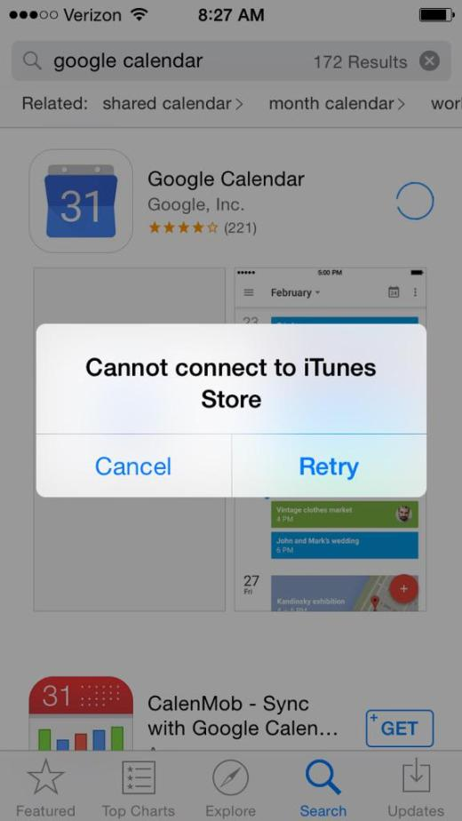 It's Not Just You, the Apple App Store Really Is Down