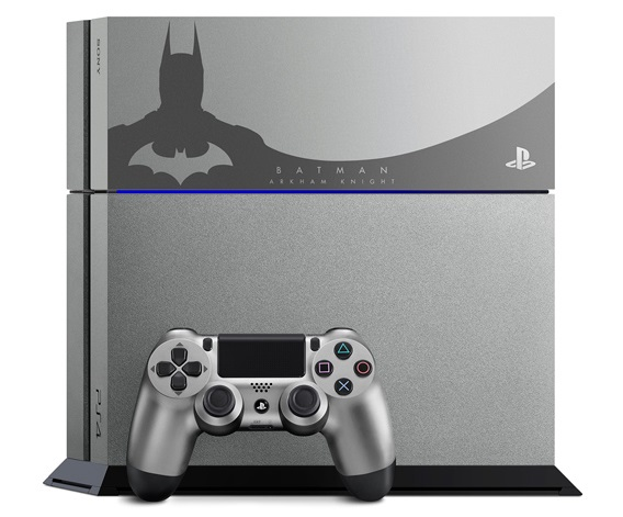 GearDiary Holy Silver Batman! Special 'Arkham Knight' PlayStaton 4 Bundles Announced