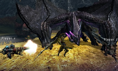GearDiary Six Flags' Magic Mountain Coaster Gets 'Monster Hunter 4 Ultimate' Treatment