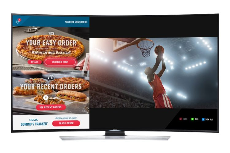 GearDiary Domino's Introduces Ordering from Your Samsung Smart TV