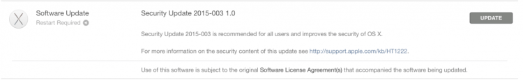 GearDiary Apple Pushes Yosemite Security Updates for Macs