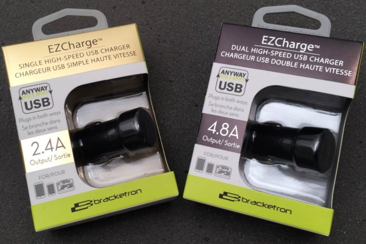 Bracketron EZCharge Lets You Plug It In, Plug It In