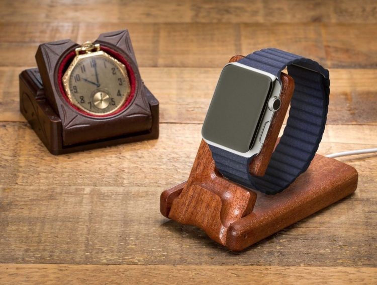 Pad & Quill Releases the Hand-Made Luxury Pocket Stand for Apple Watch