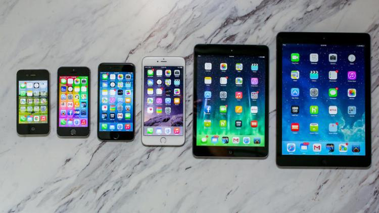 iOS Family including iPhone 6 Plus