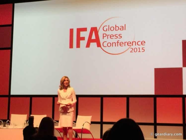 At #IFA15GPC, Consumer Electronics and Home Appliance Trends Were Explored