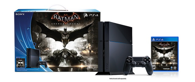 Holy Silver Batman! Special 'Arkham Knight' PlayStaton 4 Bundles Announced