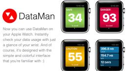 DataMan's Data Monitoring App is Apple Watch Ready
