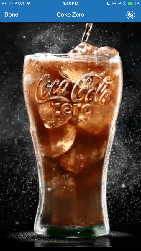 Shazam This... Coke Zero Uses Shazam to Innovate Advertising