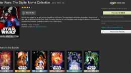 Star Wars the Digital Collection Comes to iTunes and Amazon April 10th!