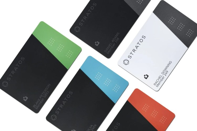 Stratos Card Becomes the First All-in-One Connected Card to Ship