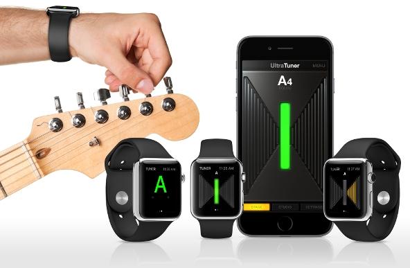 UltraTuner Apple Watch