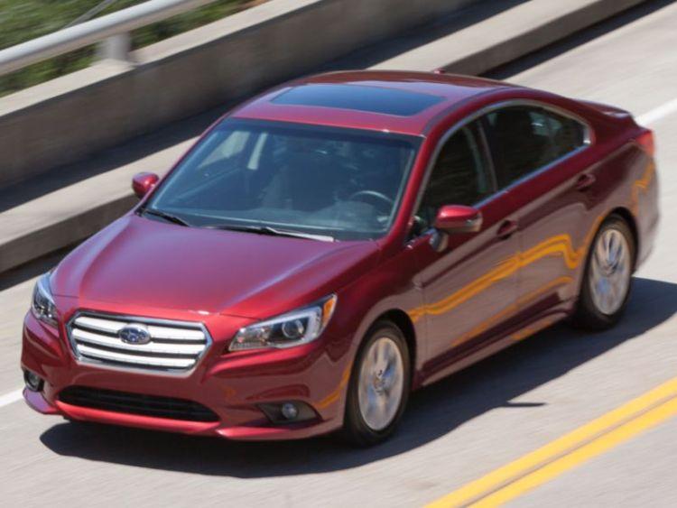 2015 Subaru Legacy/Images courtesy Subaru