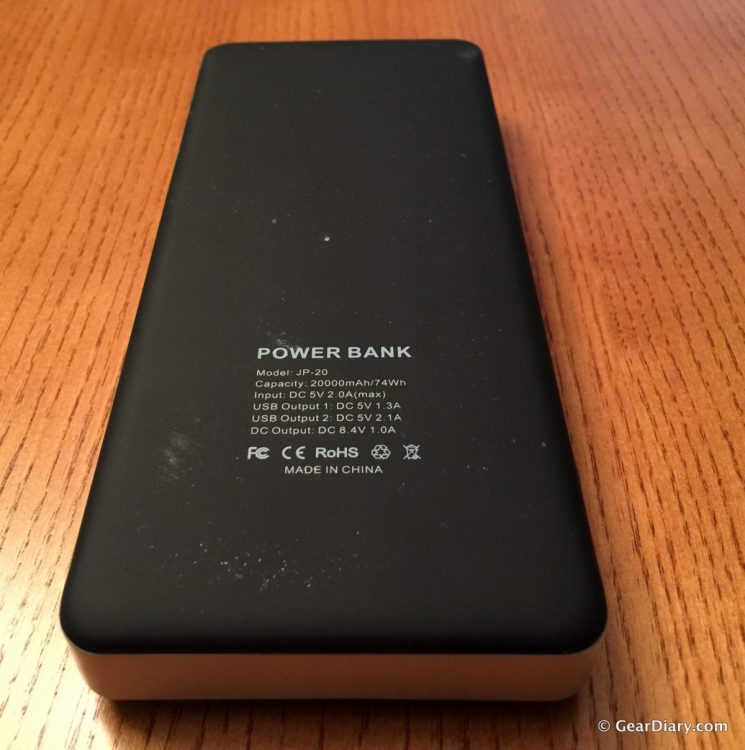 EasyAcc Powerbank PB20000AP Review-Super Capacity, Super Size