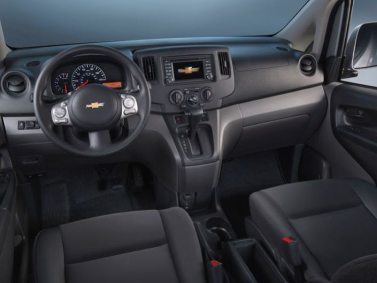 2015 Chevrolet City Express: Nissan Wearing a Bowtie
