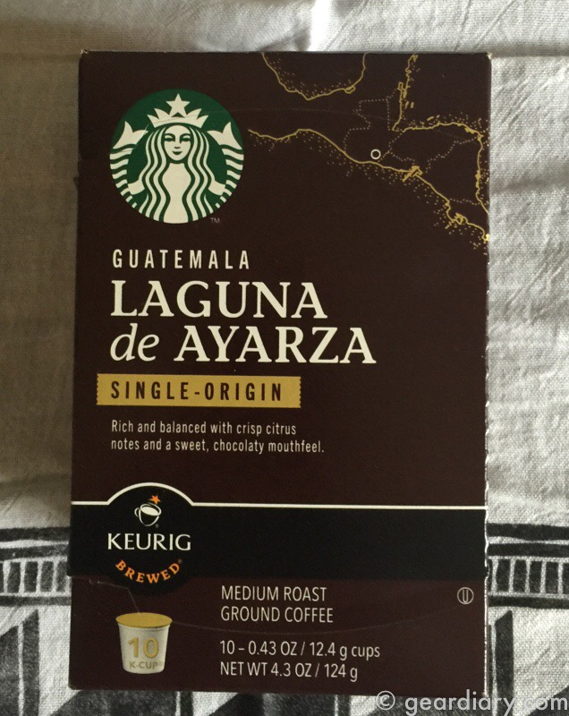 GearDiary Up Your Keurig Game Thanks to Starbucks Single Origin Coffees!