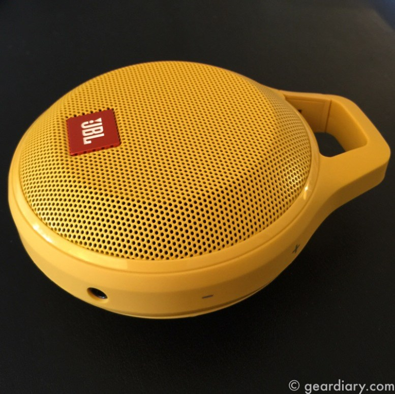 GearDiary JBL Clip+ Bluetooth Speaker Lets You Clip It and Rock Out