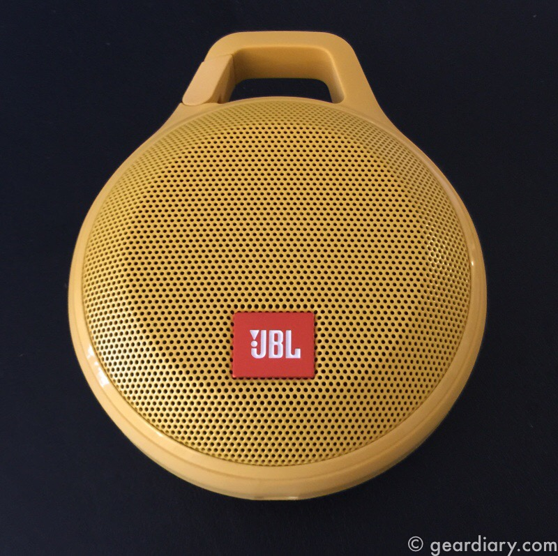JBL Clip+ Bluetooth Speaker Lets You Clip It and Rock Out